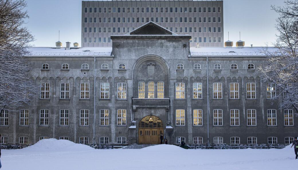 <b>Gløshaugen: </b>De smittede som tilhører Gløshaugen skal ha vært på campus.