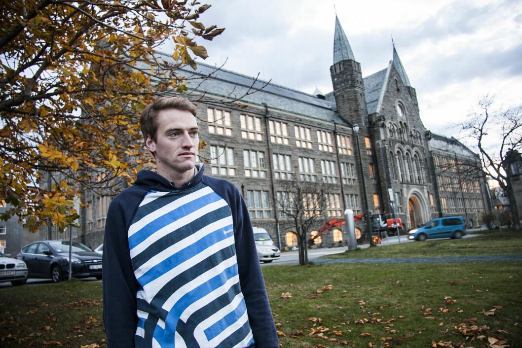 Tidligere studentpolitiker Vegard Elde Vefring ønsker en mer rettferdig ordning av kontinusjonseksamener.
