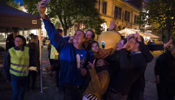 FESTBRÅK: De fleste meldingene kommer fra Elgeseter gate, Møllenberg og Midtbyen.