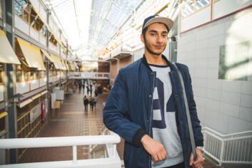 Student Saber Ben Ouaz skal delta på Kosmorama for første gang.