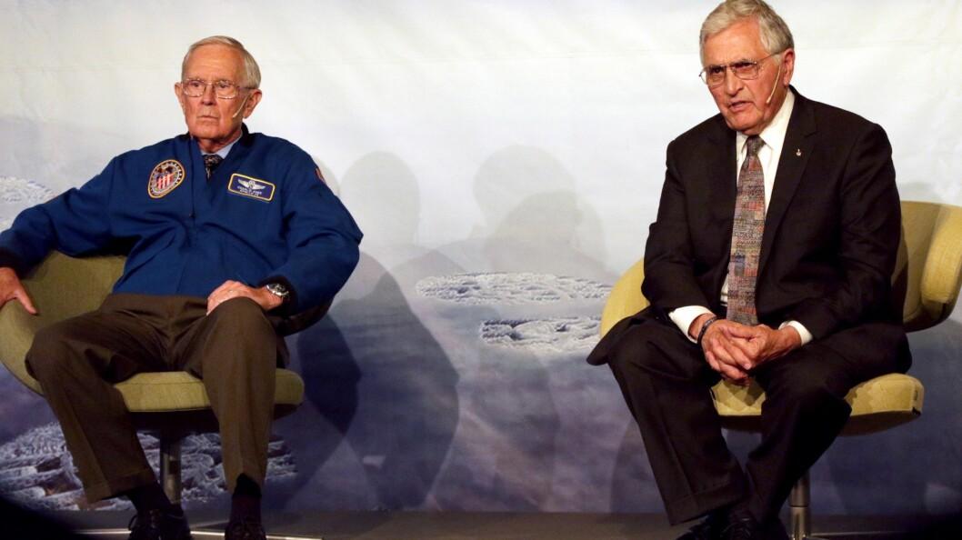 Charles Duke var tiende mann på månen, mens Harrison Schmitt er den siste nålevende personen som utførte en månelanding.
