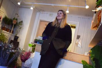 Julie Bjørk hadde visste ingenting om planter og blomster før hun startet Bakklandet Blomster.
