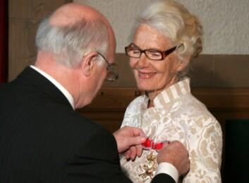 Synnøve Liaaen Jensen ble utnevnt til Kommandør av Den Kongelige Norske St. Olavs Orden i 2008.