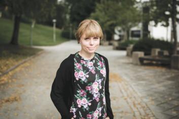 KAFÉFORSKER: Forsker Ida Marie Henriksen ved institutt for tverrfaglige kulturstudier ved NTNU har i fire år studert de ulike rollene vi tar på oss i kaféen.