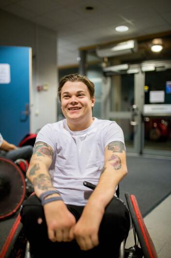 IKKE REDD: Forsvarsspiller Jo Magnus Torvik har ambisjoner om å spille på internasjonalt nivå.