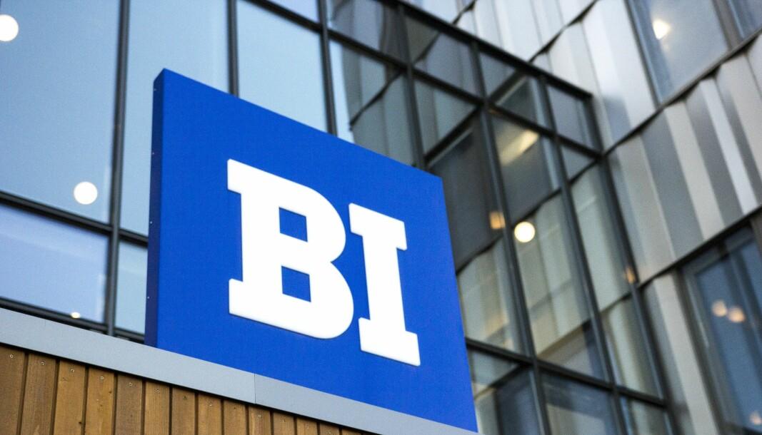 <b>VIRUSUTBRUDD:</b> Flere studenter ved BI har vært eksponert for smitte.