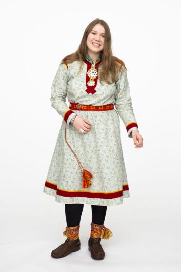 IDENTITETSTAP: Familien til Lise Eder Murberg ble fratatt det samiske språket på grunn av den statlige fornorskningspolitikken.