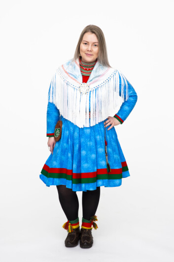 FORDOMMER: Maja Fjellström har opplevd å få negative kommentarer fordi hun er samisk.
