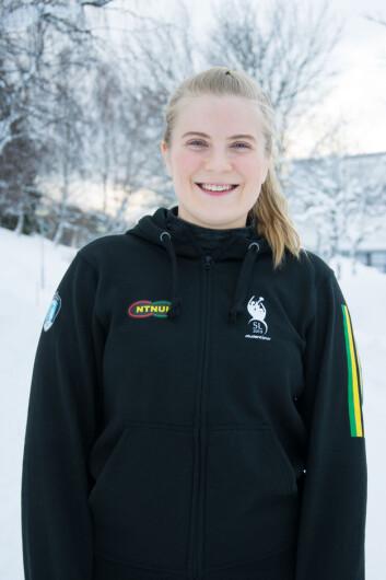 GLEDER SEG: Sportsleder Anna Hukkelberg ser fram til masse moro for årets studentleker og håper på økt suksess for idrettsfestivalen.