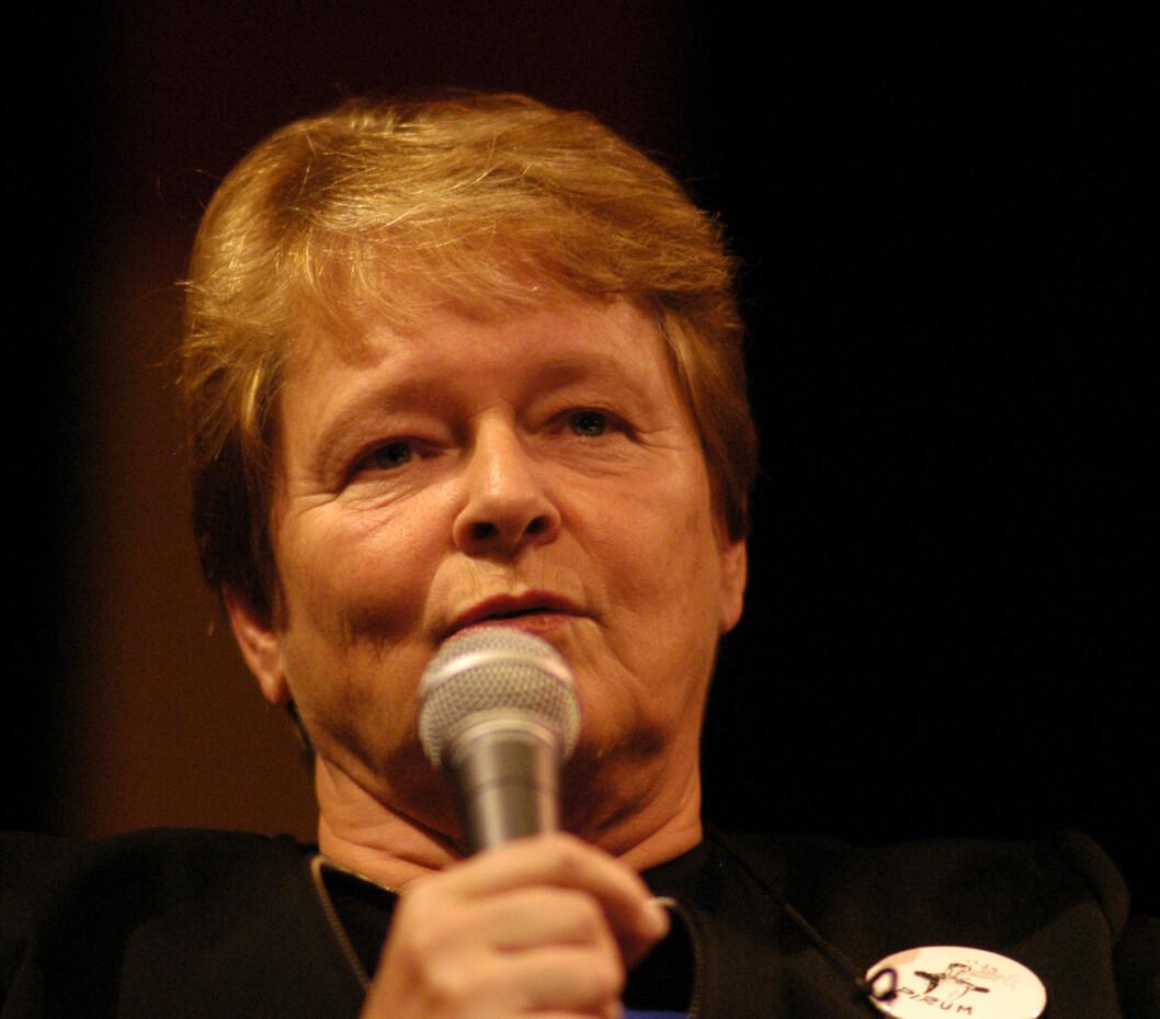 Forrige gang Gro Harlem Brundtland besøkte Storsalen var under UKA-03.