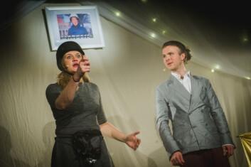 Forestilligen besto bare av to skuespillere, Karen og David, som imponerte vår anmelder
