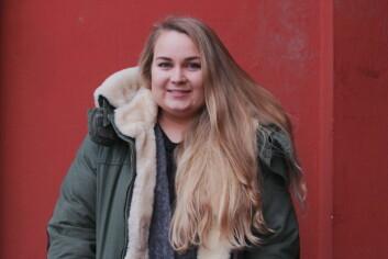 FORNØYD REVYSJEF: Jenny Andersen har grunn til å smile etter at Nablarevyen ble helt utsolgt.