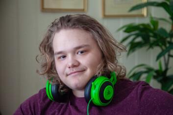 HISTORIEINTERESSERT: Bendik Winther Bjørkli (19) tar for tiden opp fag fra videregående og håper på å komme inn på bachelor i historie på NTNU til høsten.