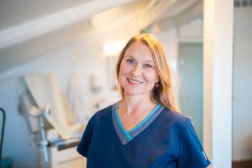 OVERBEHANDLING: Kari Løvendahl Mogstad forklarer at overbehandling av sopp kan føre til toleranseutvikling.