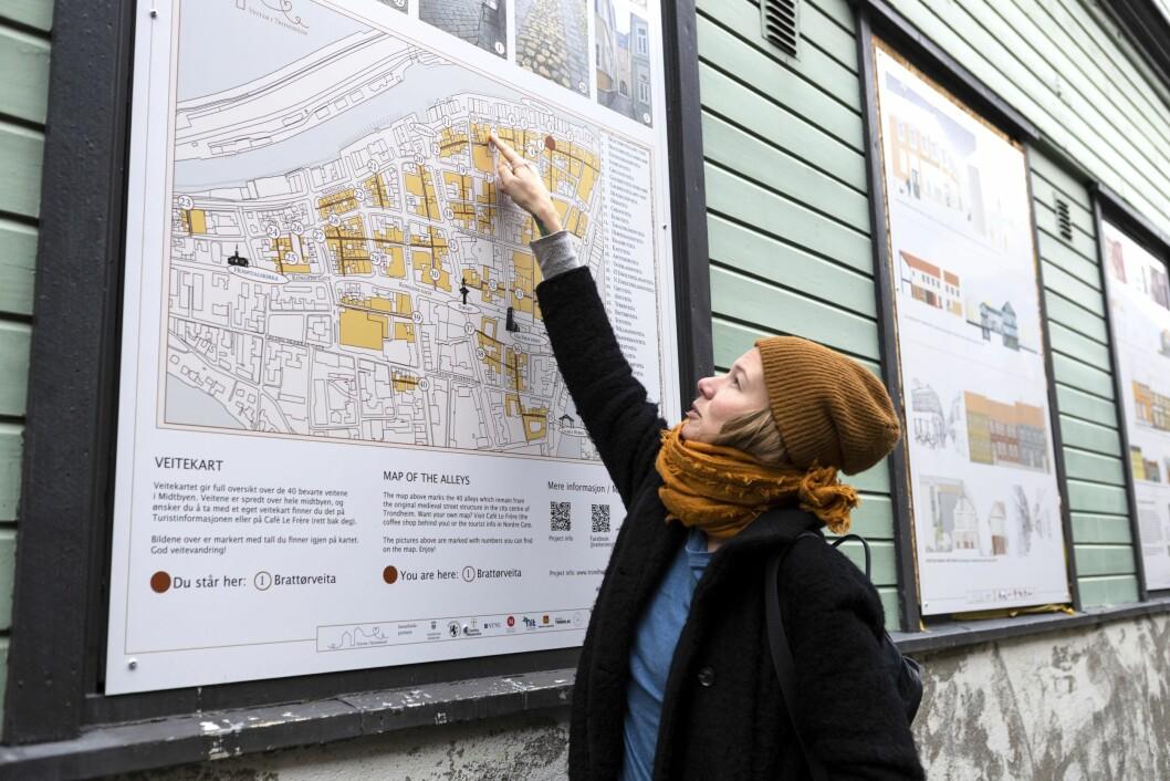 ILDSJEL: Marte Osvoll Valderaune brenner for veiteprosjektet.