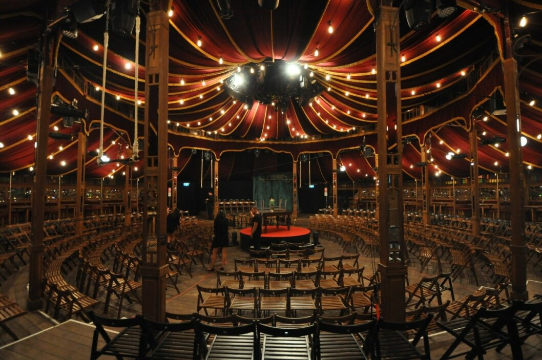 Teltet har blitt brukt på flere ulike festivaler tidligere.