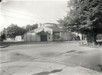 Det originale Cirkusbygget som en gang huset Studentersamfundet.