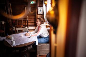Siren Hansen var med på fadderuken til linjeforeningen Panoptikon, og har holdt seg unna alkohol i fadderuka.