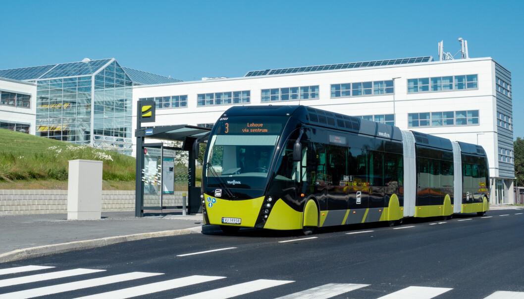 <b>INGEN BUSS:</b> Campus Dragvoll er et av stedene som rammes av busstreiken.