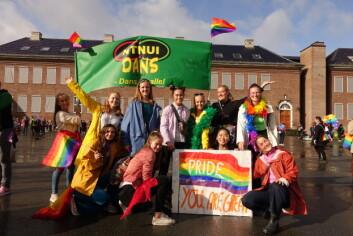 NTNUI Dans under årets Pride-parade.