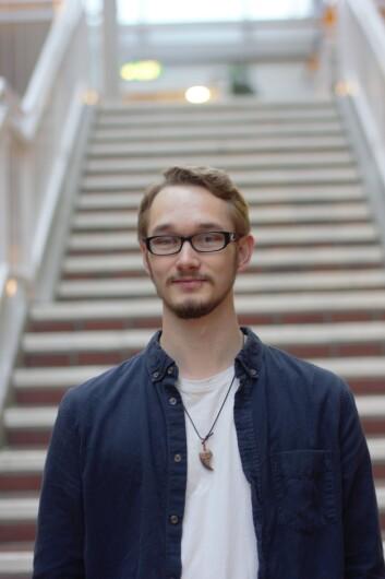 Simon Christiansen, 22 år, går første år på Filosofi.