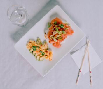 Versjonen som serveres på Lyche nå kommer ikke med avokado.