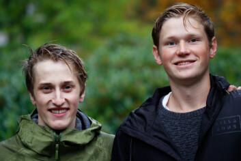 **Pioneerer:** Sondre Rodahl (t.v) tok med seg sporten roundet tilbake til Norge når han var på utveksling. Kompisen Bendik Wangen (t.h) tror også at sporten kan komme til å vokse i Norge.