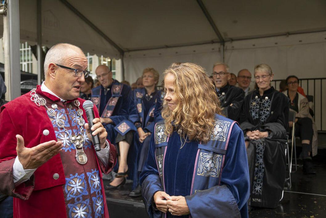 Monica Rolfsen og Anne Borg er fortsatt med i kampen om å bli  den neste rektoren ved NTNU.