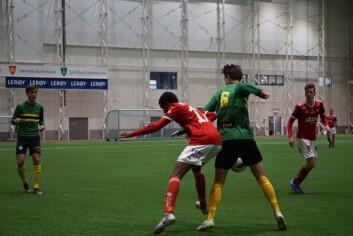 Det var høyt tempo i kampen og spillerne måtte løpe mye. En forsmak på neste sesong i 3. divisjon.