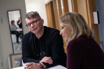 BÆREKRAFT: Espen Holm og Bente Haldorsen i Sit forteller at de har en ambisjon om å være mer miljøvennlige ved å øke produksjonen av vegetar- og veganmat.