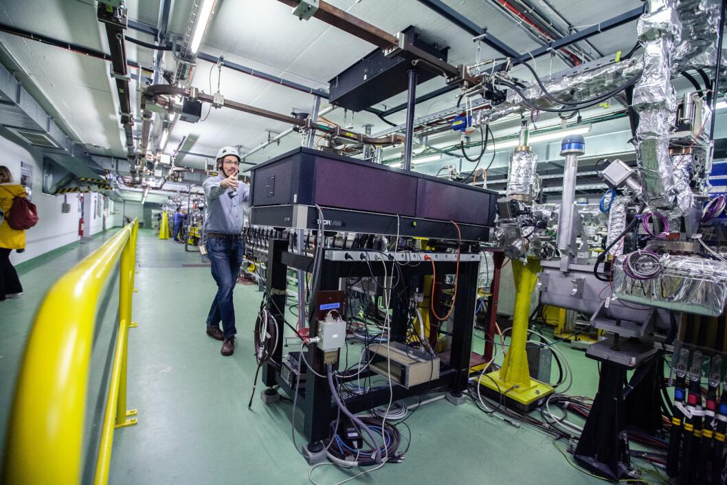 <b>STRÅLERETTET:</b> Ved CLEAR forsøker forskere å utvikle bedre akseleratorer og strålefokuserte elementer Håpet er å kutte kostnader for FCC eller CLiC