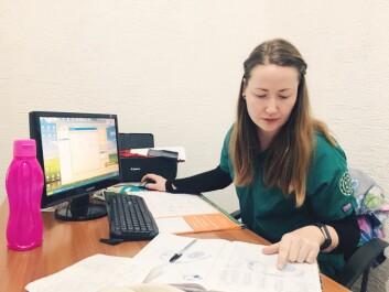 <b>Frustrert:</b> Maria forteller at diagnosen har ført til mye frustrasjon gjennom årene, men at hun håndterer smertene i hverdagen bedre enn før.