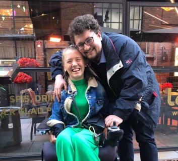 LAGFØLELSEN: Ida og Kristofer kjenner sterkt på lagfølelsen dem imellom. Det er en følelse av at det er de to i verden.