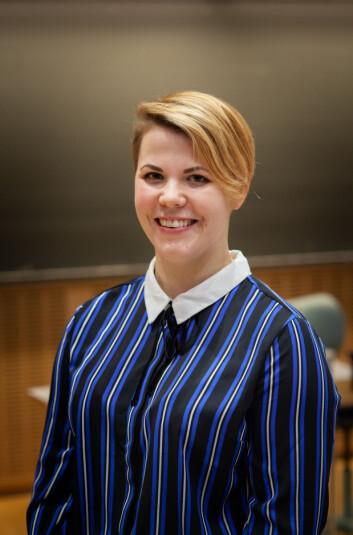 Leder Cecilie B. Raustein i Studenttinget spår mye snakk om bærekraftig campusutvikling i årene framover