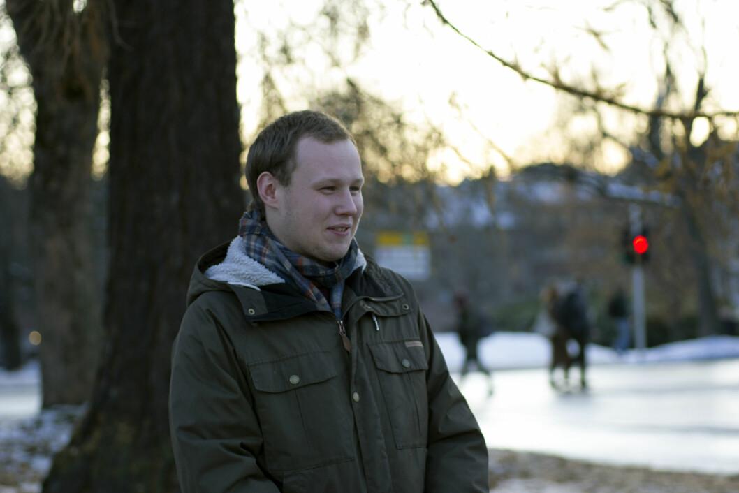 Øystein Fruseth Christiansen, leder av NTNUI orientering.