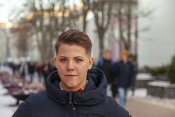**Kritisk:** Leder for Studenttinget Cecilie Bjørnsdotter Raustein frykter konsekvensene boliger og servicefunksjoner kan få for videreutviklingen av læringsarealer på Gløshaugen-platået.