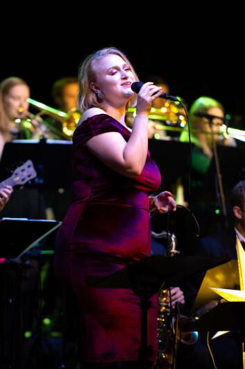 Emilie Wilhelmine Smestad sang på drøyt halvparten av kveldens låter.