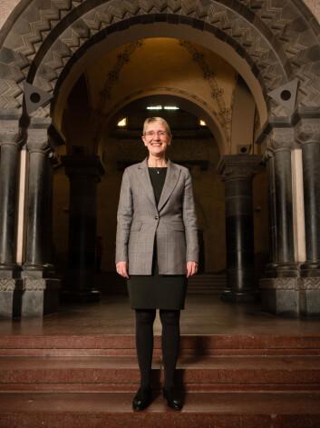 REKTOR: Anne Borg er NTNUs nye rektor.