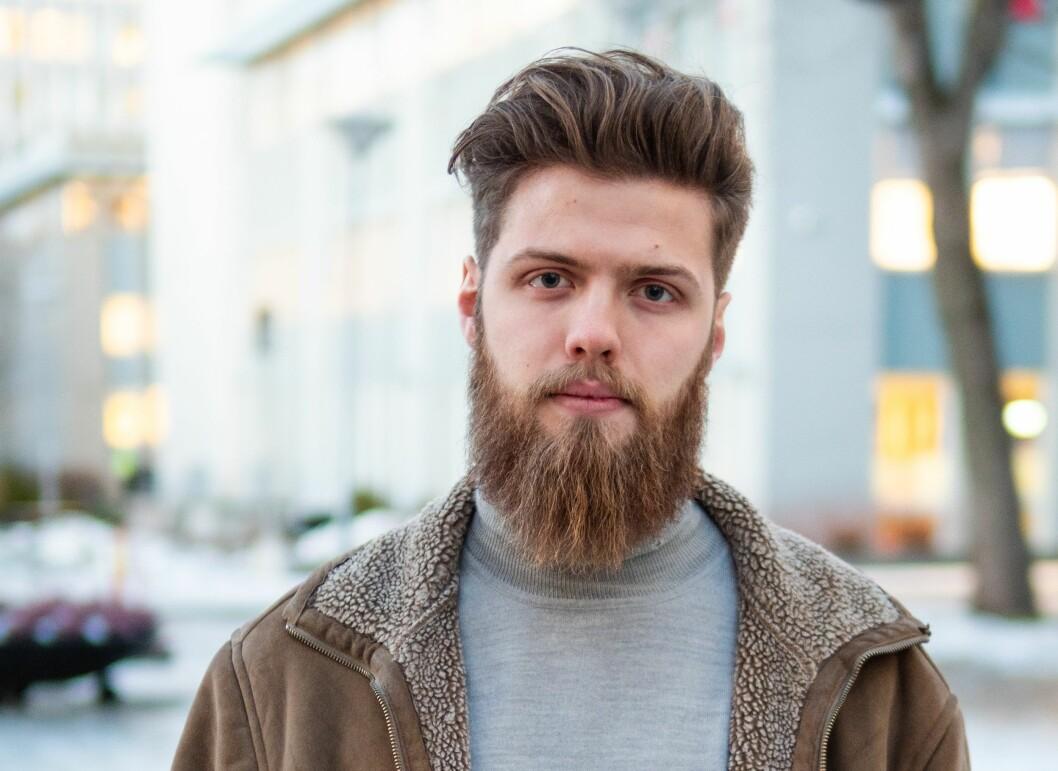 KREVENDE: Eirik Schwencke Johnsbråten er en av de som ikke får startet på masteroppgaven til våren.