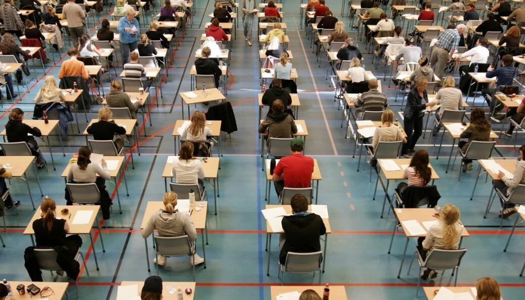 <b>EKSAMEN: </b>NTNU legger opp til fysisk eksamen