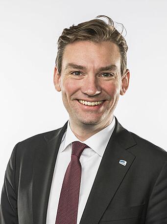 Forsknings- og høyere utdanningsminister Henrik Asheim (H) .