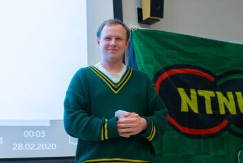 Øystein Fruseth Christiansen ble valgt til leder av NTNUI.