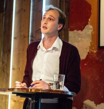 STILLER TIL VALG: Jakob Oseid har blant annet erfaring fra KSG og Styrets debatkomité.