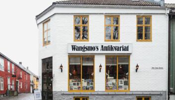 MANGFOLDIG: Hos Wangsmofinner du både obskure romanerog kjente tegneserier.
