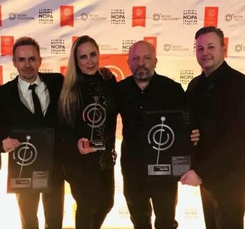 Dsign Music  vant NOPAs Musikkforleggerpris i 2018.