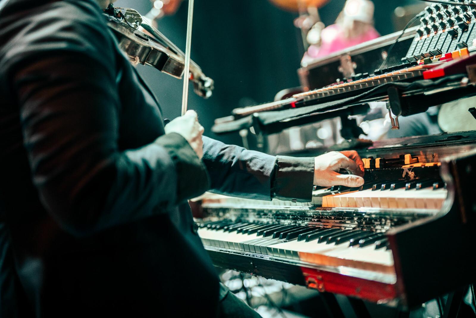 Fra Steamdome-konsert på Byscenen i 2018.