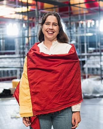 <b>SAMFUNDSMØTENE SNART TILBAKE: </b>Samfundetleder Karen Mjør gleder seg til semesterets første Samfundsmøte som leder.