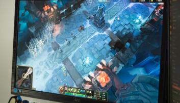 <b>LEGENDS:</b> I dag er det fortrinnsvis gruppekampspillet League of Legends som spilles av den aktive medlemsbasen.
