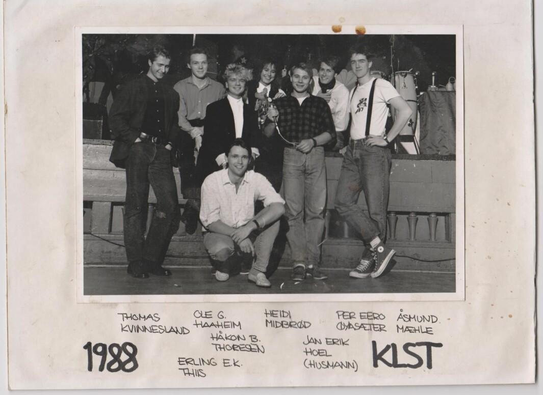 <b>KLUBBSTYRET</b>: Mæhle var med i  Klubbstyret i to år, 1988 og 1989.
