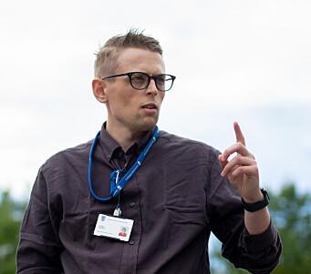 SAMMARBEID MED NTNU: Torkild Raavand fra Trondheim kommune holdt et øye på åpningen